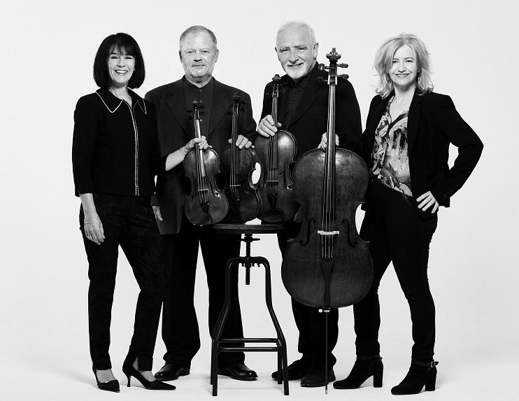 """""""Brodska kvartets"""" ir britu klasiskais stīgu kvartets"""