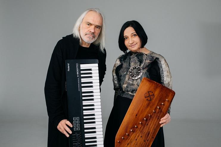 Biruta Ozoliņa un Uģis Prauliņš