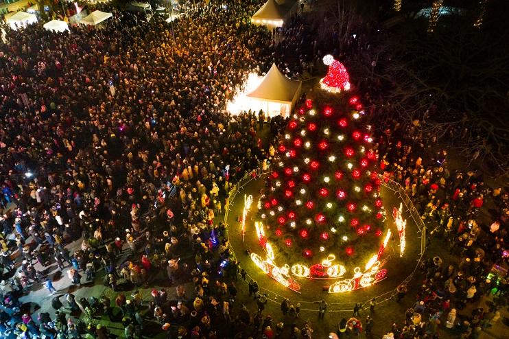 Ziemassvētku egle Liepājā