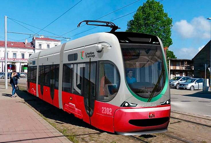 Jauno tramvaju vizualizācija