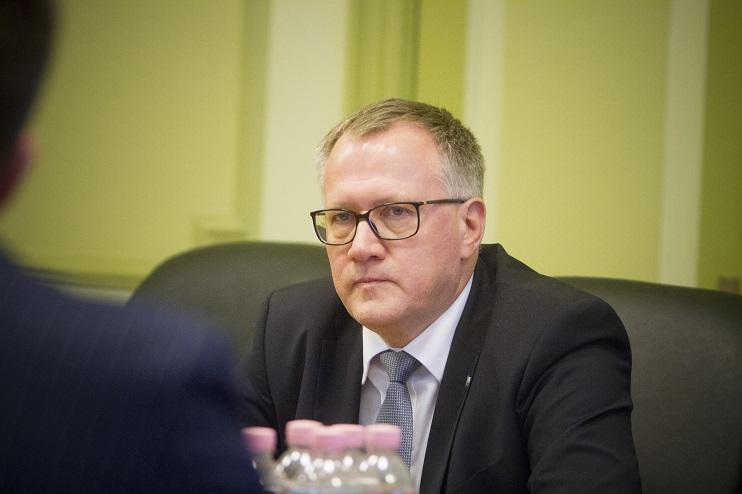 Saeimas Izglītības, kultūras un zinātnes komisijas priekšsēdētājs Arvils Ašeradens