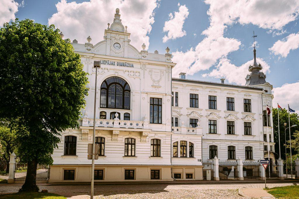 Реставрация Первой Лиепайской государственной гимназии