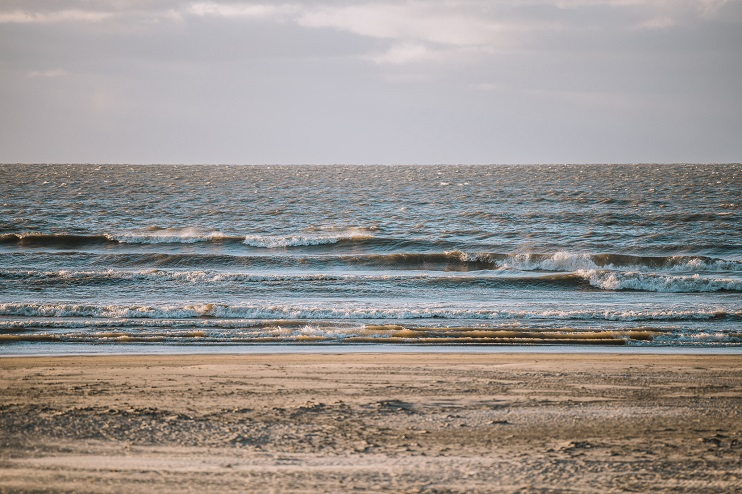 Skats uz Liepājas pludmali un jūru