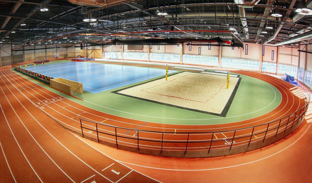Liepājas Olimpiskā centra manēža.