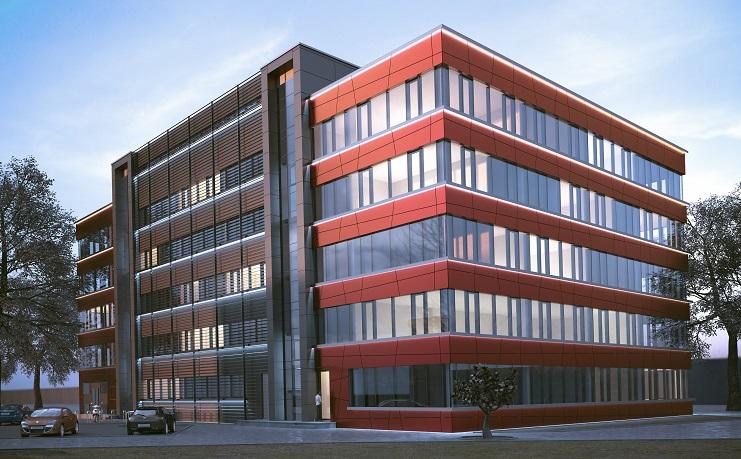 Liepājas pilsētas pašvaldības ēkas Peldu ielā 5 vizualizācija