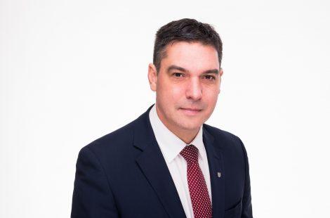 Gunārs Ansiņš, domes priekšsēdētāja vietnieks pilsētas attīstības un sadarbības jautājumos