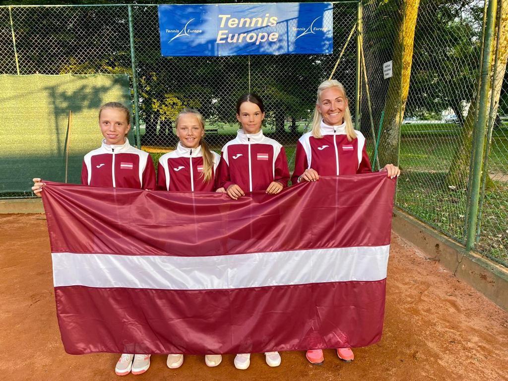 Latvijas U12 izlases meitenes