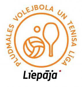 Pludmales volejbola un tenisa līgas logo